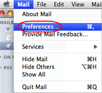 Setting up a Microsoft Exchange Mailbox in Mac Mail